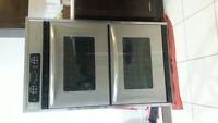 inwall double oven install