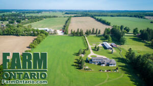 Stunning Riverfront Country Estate w Driveshed & Barn FORDWICH