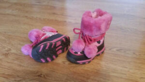 Pink Baby Shoes for Fall/Winter