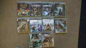10 PS3 games.