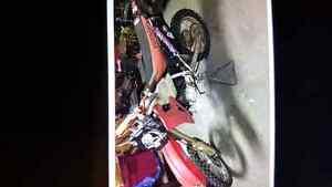 2001 Honda cr 80 dirt bike for sale 90 bore