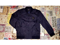 Armani jacket navy blue brand new with tags size medium for sale