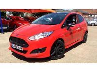 2014 Ford Fiesta 1.0 EcoBoost 140 Zetec S Red 3 Manual Petrol Hatchback
