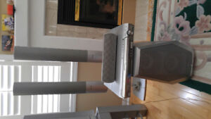"""Panasonic 34"""" T.V. with Stand and/or 5 piece Stereo System"""
