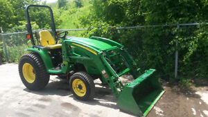 John Deere 3320 Tractor with 300CX Loader 680 Hours