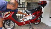 Scooter électrique 48v. Gio
