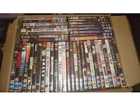 43 DVDs - Horror and Action