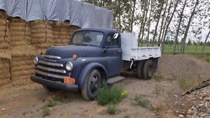 1950 Dodge 2 ton gravel truck