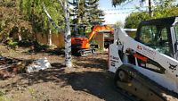 EXCAVATION & DEMOLITION SERVICES **HOME SHOW DISCOUNT**