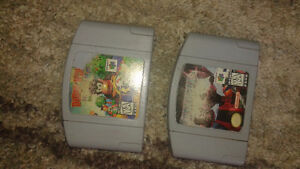 N64 Diddy Kong racing & Star Fox games. Work perfect.
