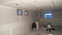 Drywall Installation and finishing  .90/ sq ft