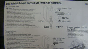 NEW BALL JOINT & U-JOINT SERVICE SET (with 4WD  Adapters) Campbell River Comox Valley Area image 2