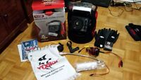 Vexilar flx 28 1 season use, like new Some extras included