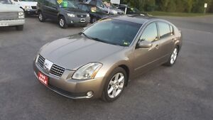 NISSAN MAXIMA SE *** FULLY LOADED *** SALE PICED $4495 CERT