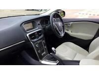 2014 Volvo V40 D2 SE Nav 5dr Manual Diesel Hatchback