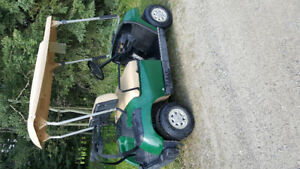 Several 2003  and 1997 Yamaha Golf Carts for sale.