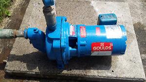 Pompe à eau goulds 3/4hp