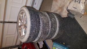 Chevy tire and rims 225/65R17 London Ontario image 2