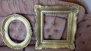 Beautiful Gold foil Frames from Europe