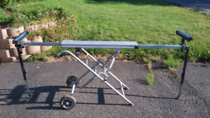 Deluxe Miter saw stand for sale