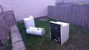 Free for scrap metal washer/dryer water tank