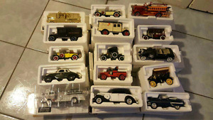 Diecast car collection