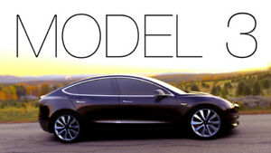 2019 Tesla Model 3  - RESERVATION FOR SALE (October 2018)