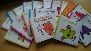 Collection de 22 livres Monsieur-Madame