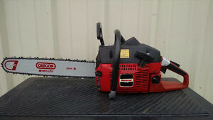 """Jonsered Chainsaw 630 with 18"""" bar."""