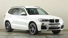 image for 2015 BMW X3 xDrive20d M Sport 5dr Step Auto SUV diesel Automatic