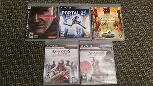 Jeux PS3 variés