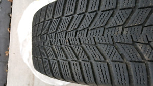 Winter Tires-205/55-R16-Continental Winter Contact SI - On Rims