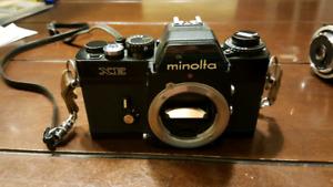 Minolta XE Film Camera Body