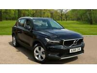 2019 Volvo XC40 T4 AWD Momentum Auto Power Driver Seat with Memory, Rear Park A for sale  Saxmundham, Suffolk