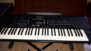 Technics KN800 Keyboard and stand