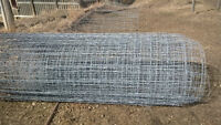 Wire Mesh Fencing and Metal Posts