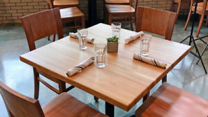 Solid Wood Table Tops, Butcher Block and Custom Counter tops