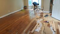Hardwood and laminate