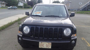 2009 Jeep Patriot black SUV, Crossover