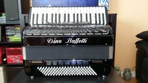 ACCORDEON  DINO BAFFETTI  PROFESSIONAL I V