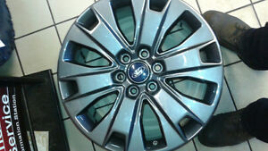 20 inch charcoal alloy rims