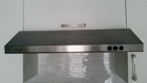 Stainless Steel Under Cabinet Range Hood - $50