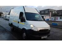 Iveco Daily S Class 2.3TD 35S11V SWB HIGH ROOF FITTED INTERNAL RACKING+HANDWASH
