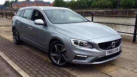 2015 Volvo V60 D6 (220) HyBrid R DESIGN Lux N Automatic Diesel/Electric Estate