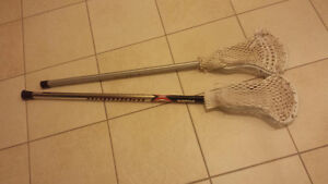 OUR NATIONAL SPORT LACROSSE STICKS