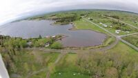 Aerial photos and videos