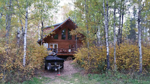 Cabin for sale Big River Timber log home