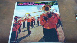 LP: Pop Goes The Swingin' Marchin' Band, Conductor Ray Martin Kitchener / Waterloo Kitchener Area image 1
