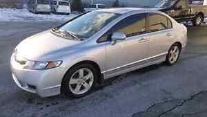 09 civic sport, 5 speed only 92k
