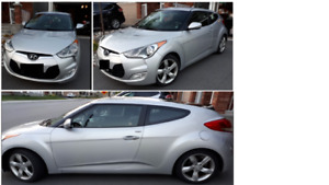 2013 HYUNDAI VELOSTER, 6 SPEED MANUAL (Price reduced)